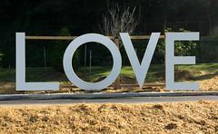 'LOVE' -- River Mill Park Occoquan (VA) June 2017