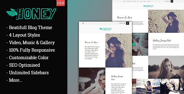 Gon Honey WordPress Theme free download