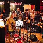 Mon, 15/05/2017 - 6:51pm - Dan Auerbach performs for a small group of WFUV members at Electric Lady Studios in New York City, 5/15/17. Hosted by Rita Houston. Photo by Gus Philippas