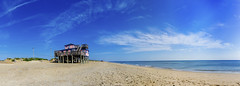 Outer Banks beach panorama