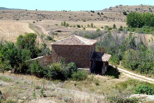 TORDELRÁBANO (Guadalajara). Sierra Norte. Spain. 2014. Ermita de la Soledad.