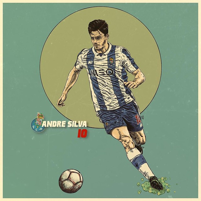 André Silva, FCPorto's Rookie of the Year 16/17 season, a tribute @autodesksketchbook @autodesk_sketchbook @autodesk @pixlr @sketchbookapp @pixlr @shift_by_pixite @andrevsilva10 @overappofficial @fcporto @superdragoes1986 #illustration #illustrationdaily