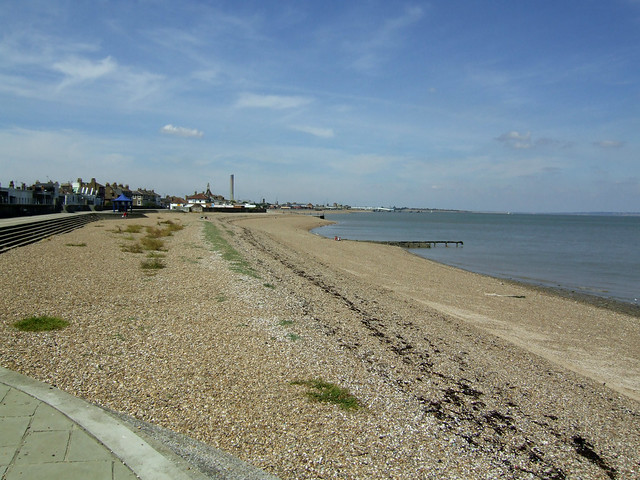 The beach near Sheerness
