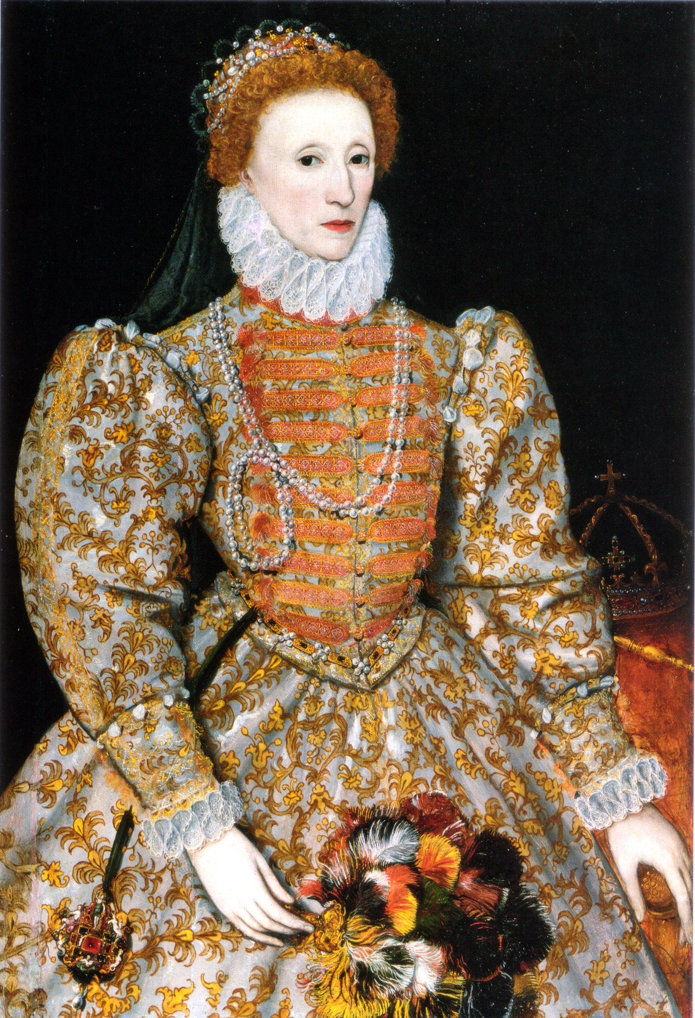 Queen Elizabeth I Darnley Portrait, 1575