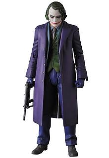 無止盡的瘋狂再升級!!MAFEX 黑暗騎士 【小丑ver. 2.0】The Dark Knight The Joker ver. 2.0 可動人偶作品