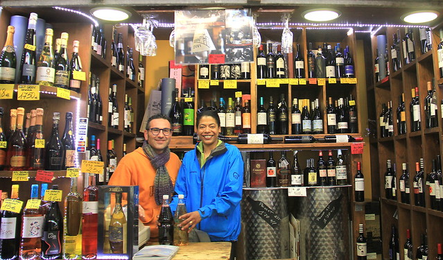 Locals at Girona Food Market
