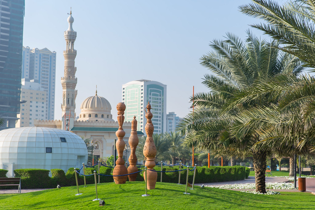 UAE. Sharjah