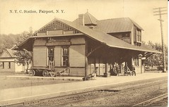 West Shore-NYC RR Station, Fairport, NY