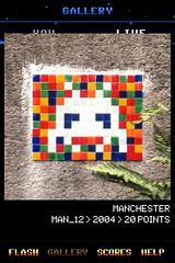 MAN_12 , Invader, Flash Invaders, street art Manchester