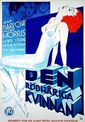 Red Headed Woman (1932 / Metro-Goldwyn-Mayer) (Sweden)