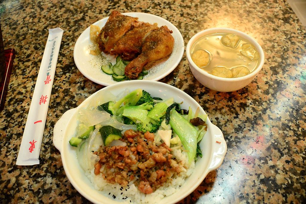 東一排骨-菜飯 2012-10-05