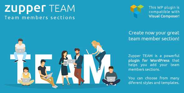 Zupper team WordPress Plugin free download