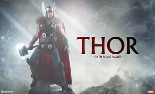 Sideshow Collectibles【雷神索爾】超級英雄計畫第六彈 Thor 1/6 比例人偶作品