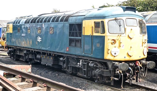 26007 'British Rail' Class 26 on 'Dennis Basford's railsroadsrunways.blogspot.co.uk'