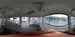 Riga tram Tatra T3 30623 interior
