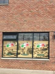 Vittorio's Window Decal