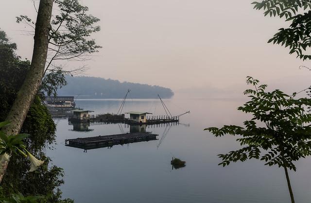 Dawn at Sun Moon Lake,Taiwan. Julia Martin