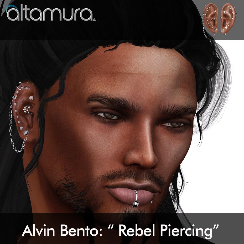 "Altamura Group: ""Alvin Bento Rebel Piercing"" - SecondLifeHub.com"