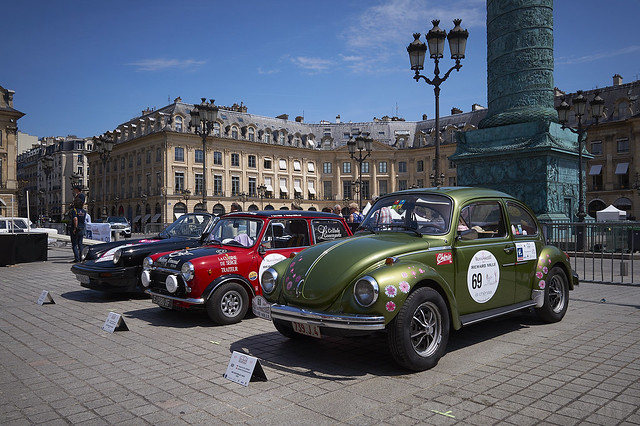 Scrutineering Day ~ Rallye des Princesses ~ 2017, Paris, France
