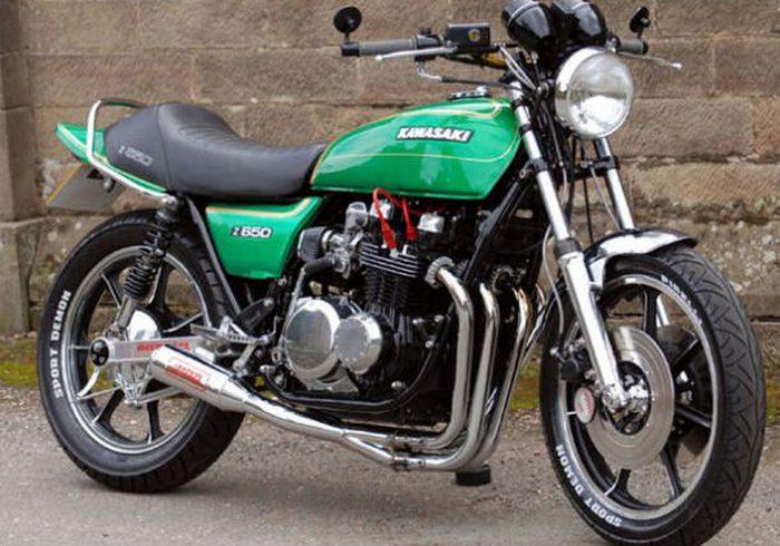 Kawasaki Z650 1976 - 6