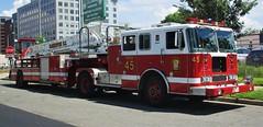 Washington D.C. Fire & EMS Truck 45 Seagrave TDA