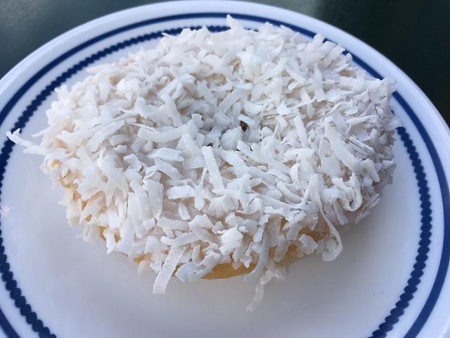Coconut doughnut - Glory Doughnuts