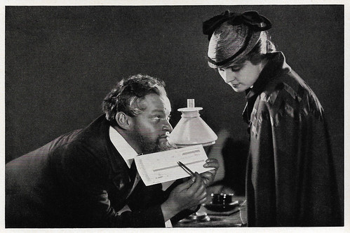 Fritz Kortner and Olga Tschechowa in Nora (1923)