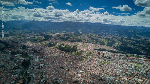 cuenca ecuador drone southamerica colonial