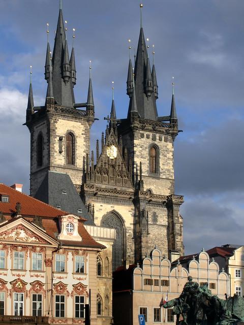 Prague - Praha, Sony DSC-W17