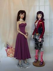 Dollcis Numina Saffron & Superdoll Roxie