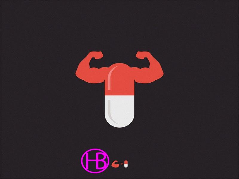 20+ ý tưởng thiết kế Logo phòng Gym