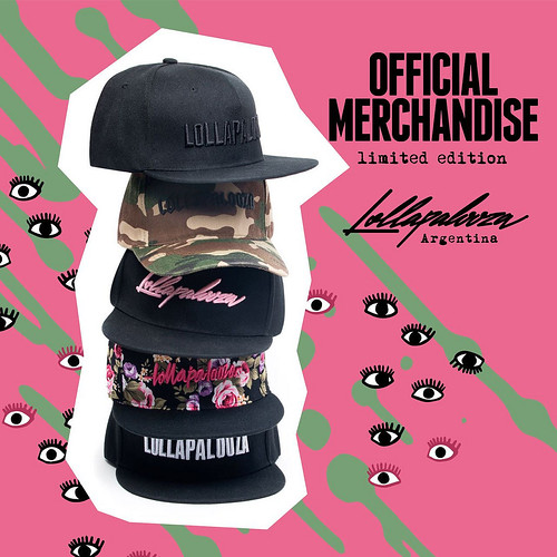Lolla Merch 2017 - Gorras