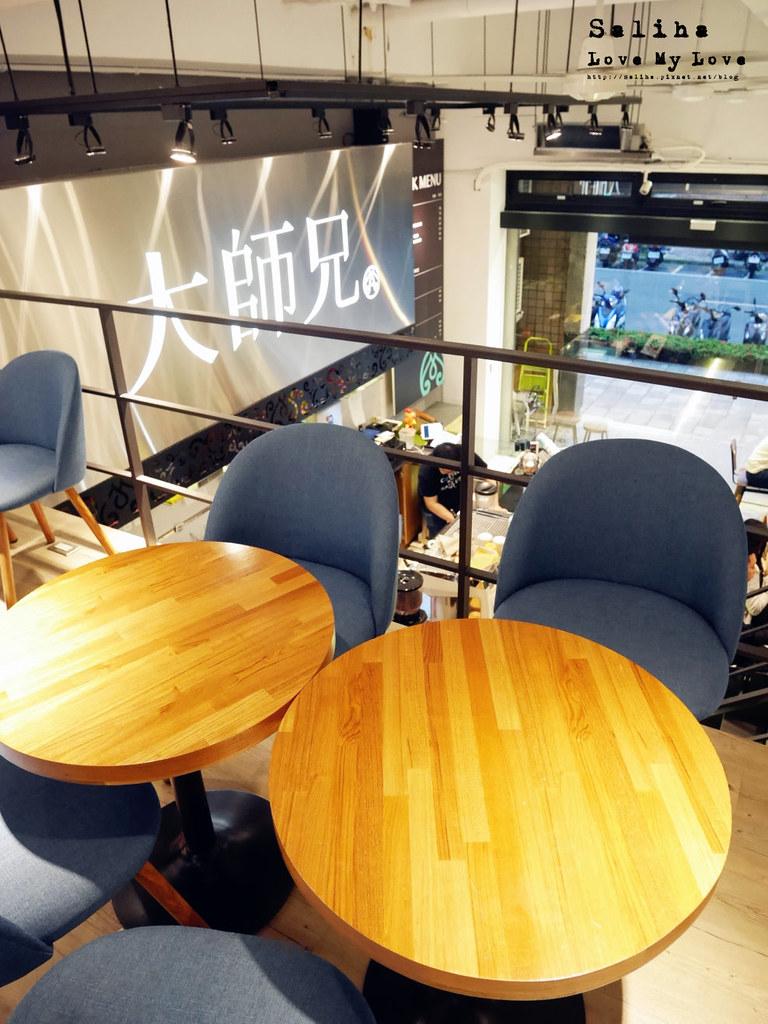台北松山南京三民站附近餐廳推薦大師兄咖啡早午餐好吃麵 (6)