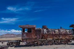 railway graveyard - Uyuni, Bolivia