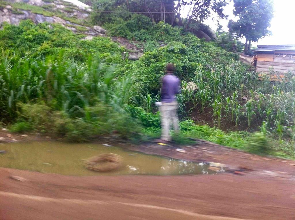 Public urination, Akure, Ondo State, Nigeria. #JujuFilms near Asolo
