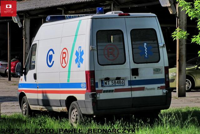 WT 58486 - Fiat Ducato/AMZ - Centrum Zdrowia Dziecka w Warszawie