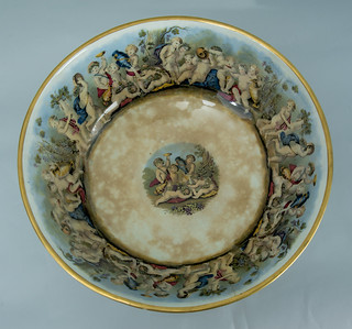 Punch bowl, 1820 - 1850