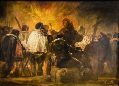 Francisco de Goya - Night Scene from the Inquisition, 1810 at National Museum of Art Oslo Norway