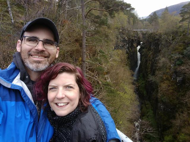 selfie w/ Falls Of Mesach
