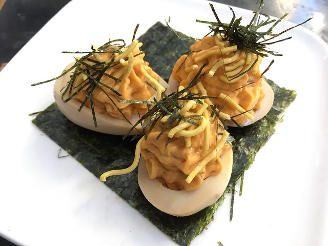 Ramen deviled eggs - The Ramen Bar