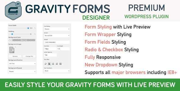 Gravity Forms Designer WordPress Plugin free download