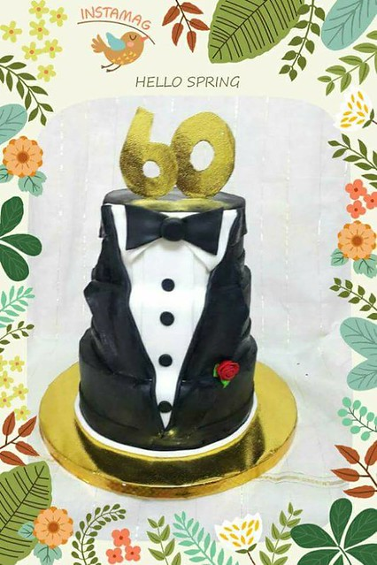 Suit Themed Cake by Athi Letchumi Somasundram of MK homemade cakes and cupcakes