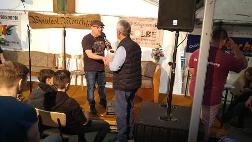 Literarisches Weinfest Mönchgrün - Gewinn für Testfahrer