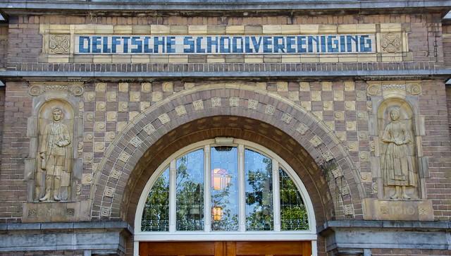 Gevelsteen Delft