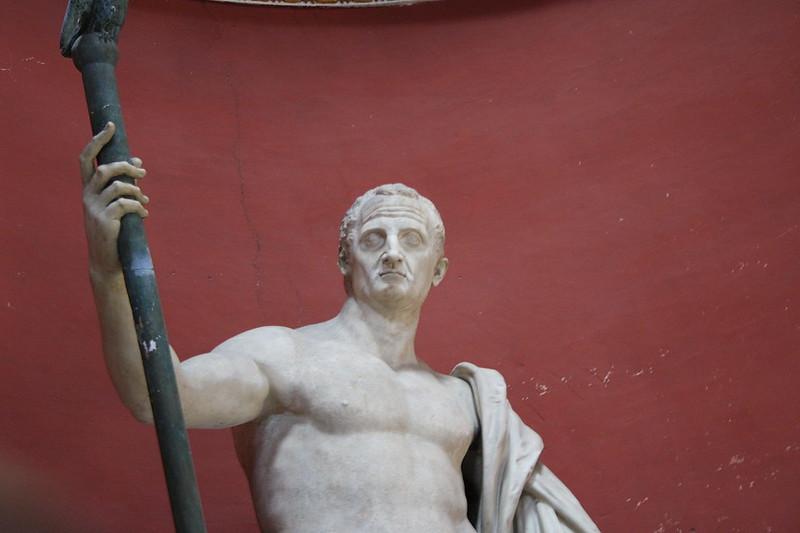 Roman statue of of emperor Galba, Vatican Museums