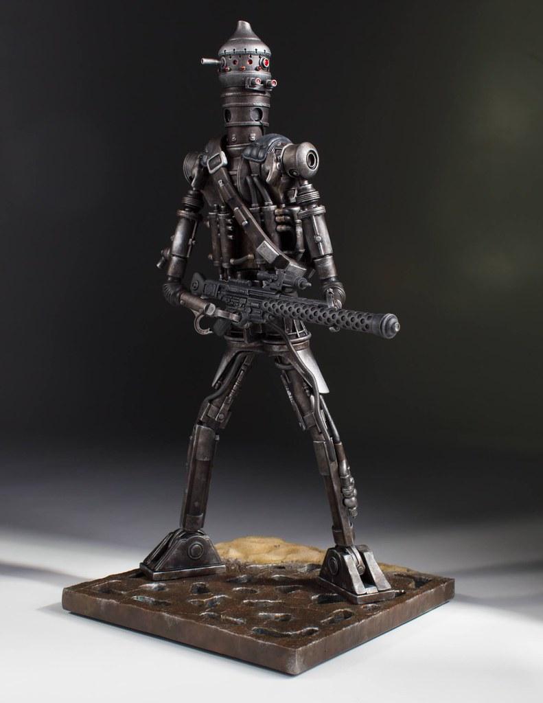 第二彈竟然是你!! Gentle Giant 星際大戰 刺客機器人【IG-88 】 1/8 比例 全身雕像作品 1:8 Scale Collector's Gallery Statue