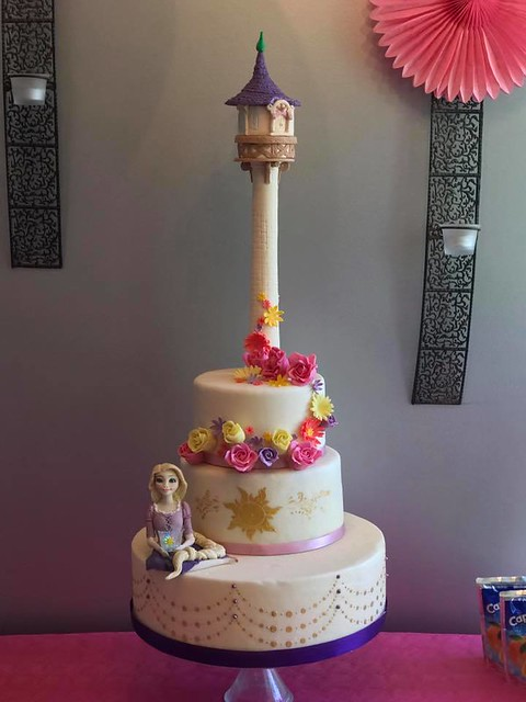 Rapunzel Cake by Eléonore of Gâteau & Design Mulhouse