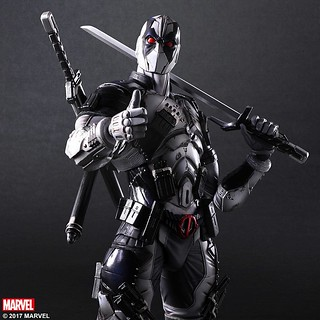 史上最白爛嘴砲英雄!! Play Arts 改 【死侍 X-Force ver.】Marvel Universe Variant Dead Pool