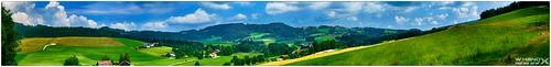Bayern - Landschaftspanorama bei Haibach