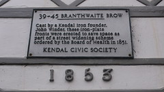 Photo of White plaque number 30246
